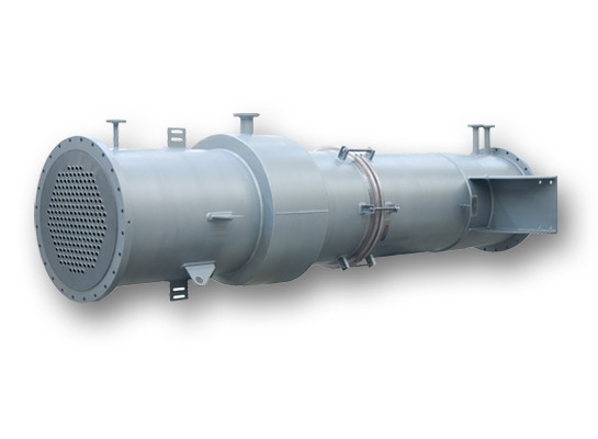 Vertical shell & tube heat exchanger for the Pickling Industry