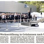Tantec feiert Werkseröffnung in Gelnhausen nach Umzug
