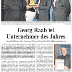 Georg Raab ist Unternehmer des Jahres
