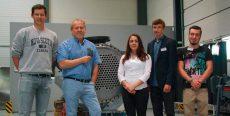 Vier Jugendliche starten ihre Ausbildung bei TANTEC