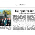 Delegation aus Indien zu Gast