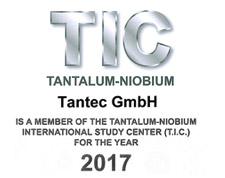 Tantec ist Mitglied des TIC 2017