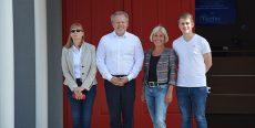 Bundestagsabgeordnete Bettina Müller (SPD) besucht Tantec GmbH in Gelnhausen
